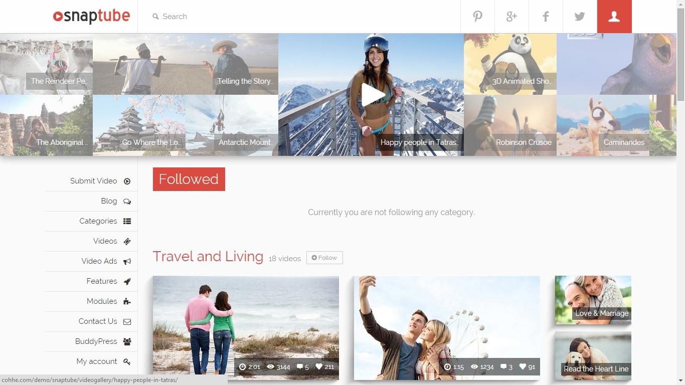 The Best Premium 10 WordPress Video Themes 2015