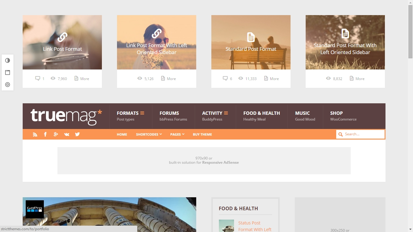 Beautiful WordPress Themes Optimized for Google Adsense 2015