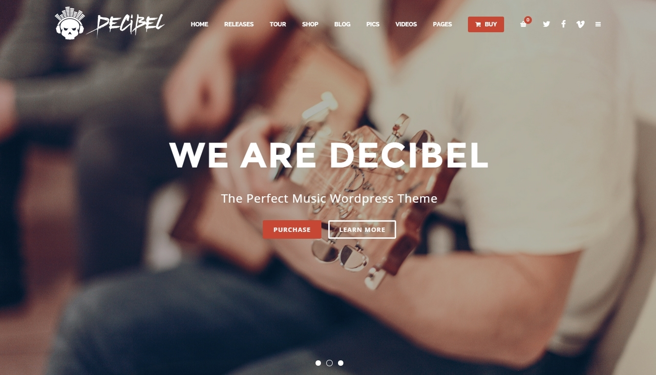 Stunning WordPress Music Themes 2015