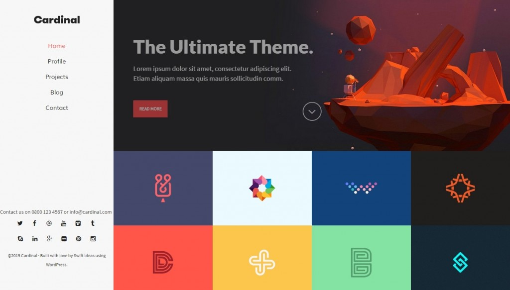 10 best flat design wordpress themes 2015 2016
