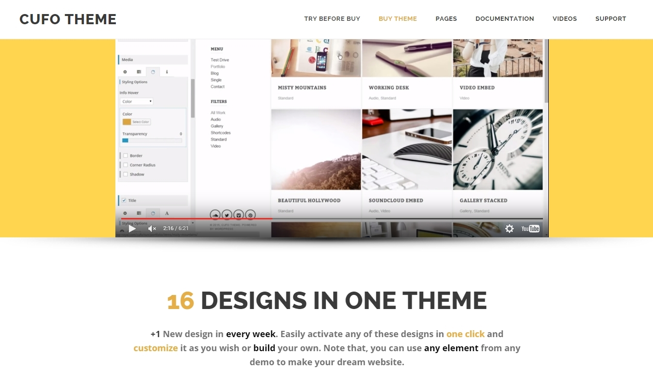 Best WordPress Portfolio Themes 2015