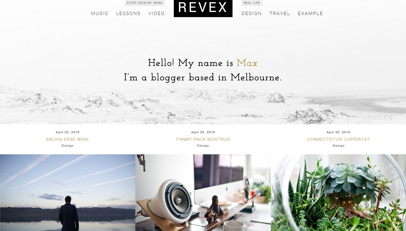 Best Personal WordPress Blog Themes – 10 Responsive, Elegant and Creative Themes