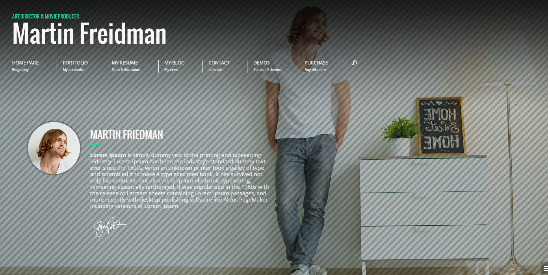 10+ Best Modern Vcard-CV-Resume WordPress Themes