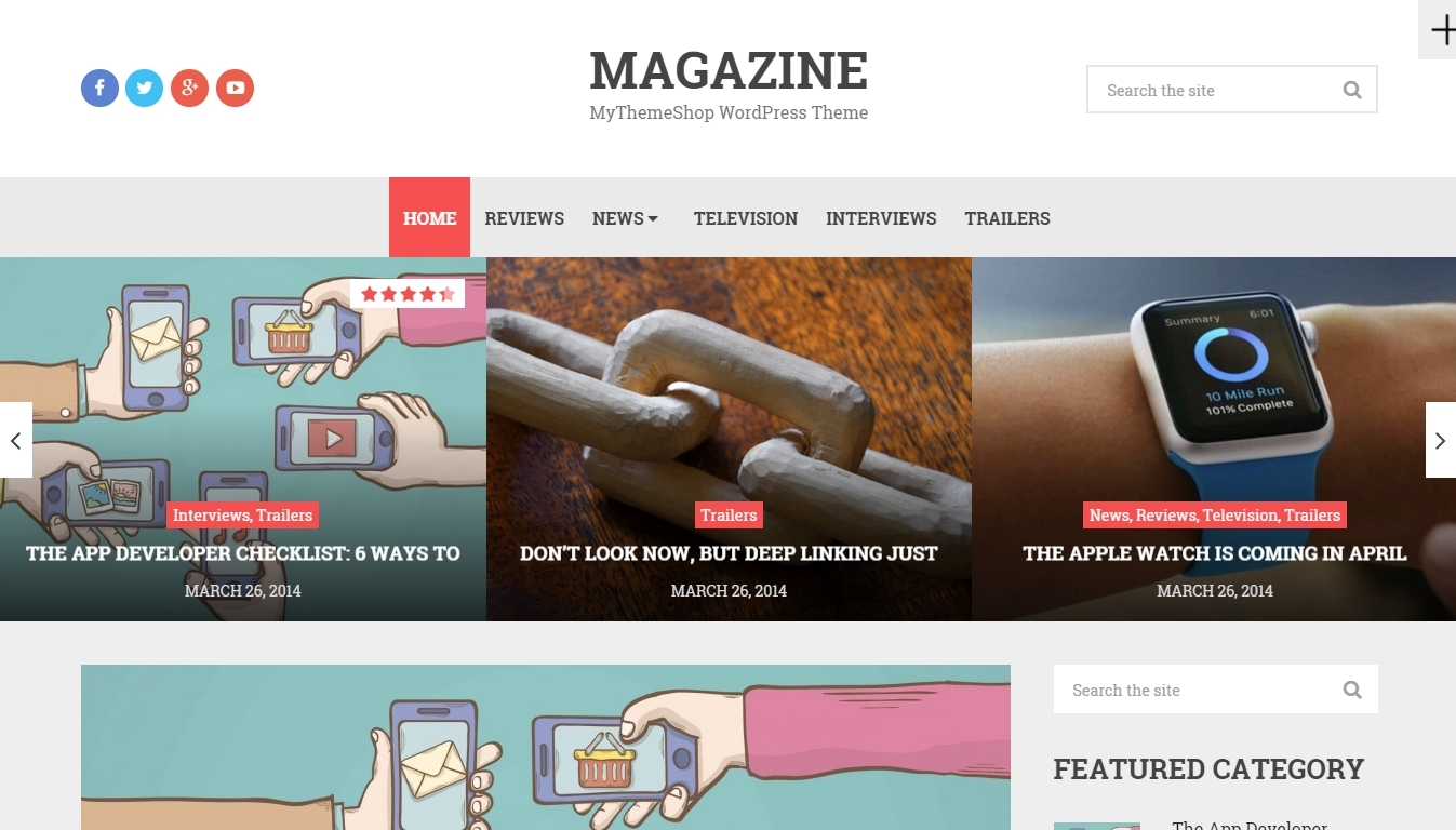 +10 Best premium magazine wordpress themes created recently for 2016
