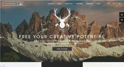 Best 10 Modern and Creative WordPress Themes 2016