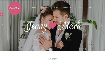 WordPress wedding website — best templates / themes 2016