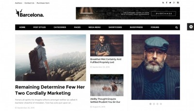 Best WordPress Magazine Template 2016