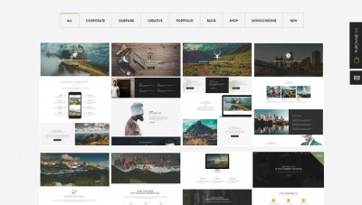 Multipurpose WordPress Parallax Themes – Enjoy Creativity