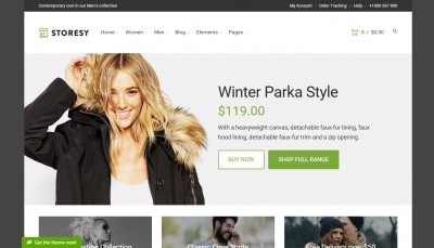 WP ecommerce templates of 2016