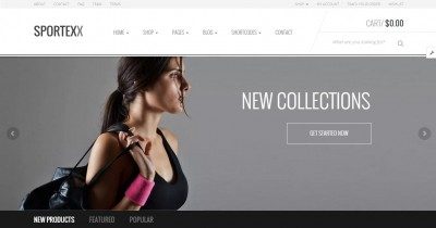 Best Sport Shop WordPress Themes of 2016