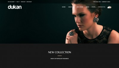 Jewelry shop WordPress themes 2016