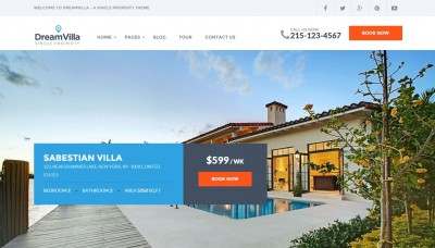 Real Estate WordPress Templates 2016
