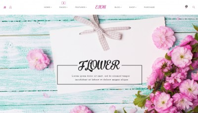 Flower Shop WordPress Themes 2016