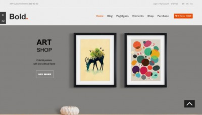 WordPress eCommerce – 500 templates for online store