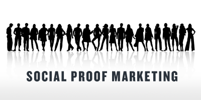 Social proof in Internet marketing